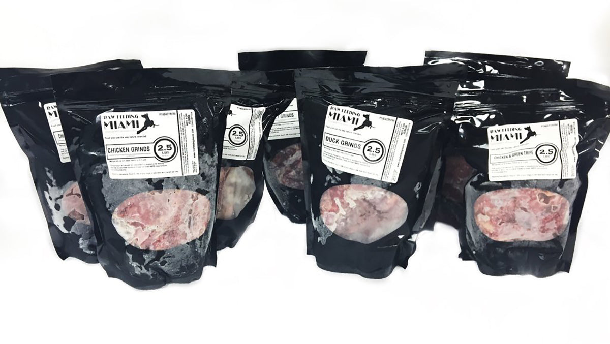 Raw Pet Food Bulk Packs