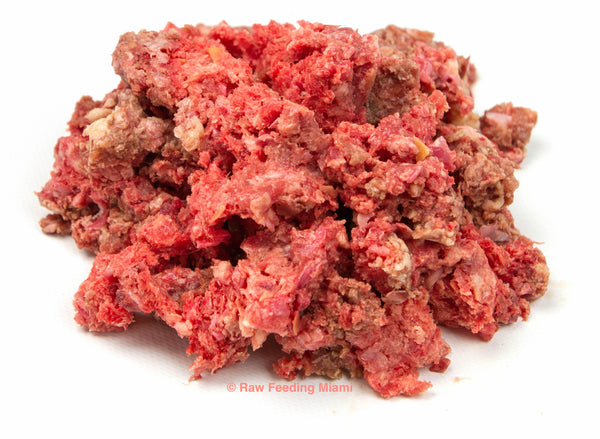 raw feeding miami, Ground Chicken Bones