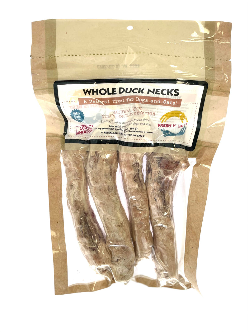 Freeze Dried Duck Necks