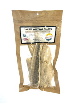 Freeze Dried Pacific Whiting Fillets