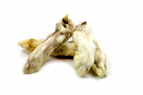 Dehydrated Rabbit Feet & Ears
