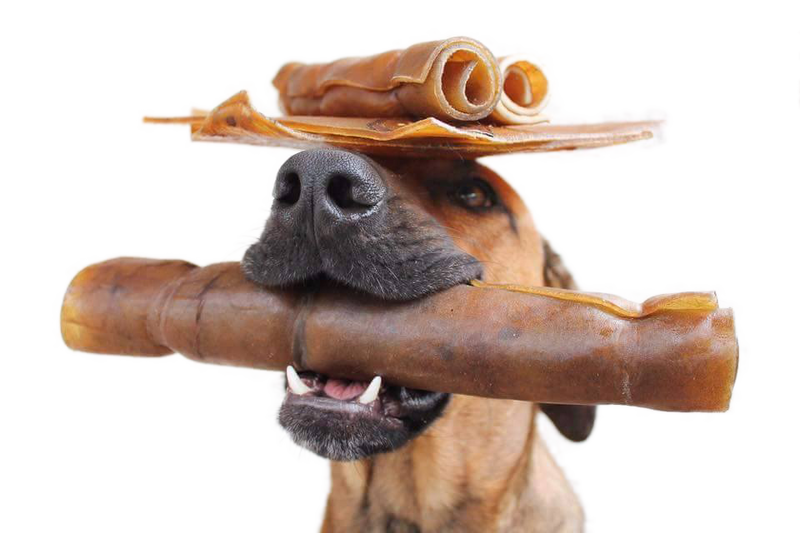 Raw Feeding Miami All-Natural Rawhide Rolls