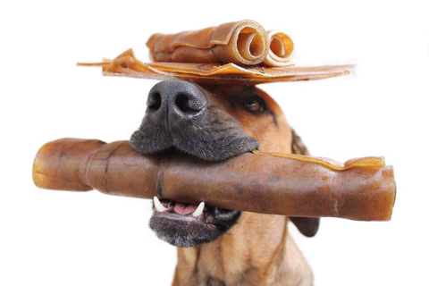 All-Natural Rawhide Rolls