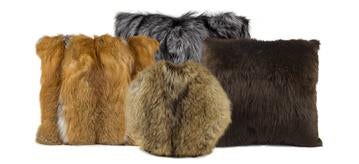 Fur Pillows Starting @ $160