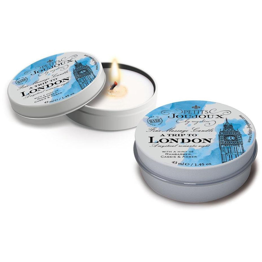 Petits JouJoux Massage Candle London 43ml