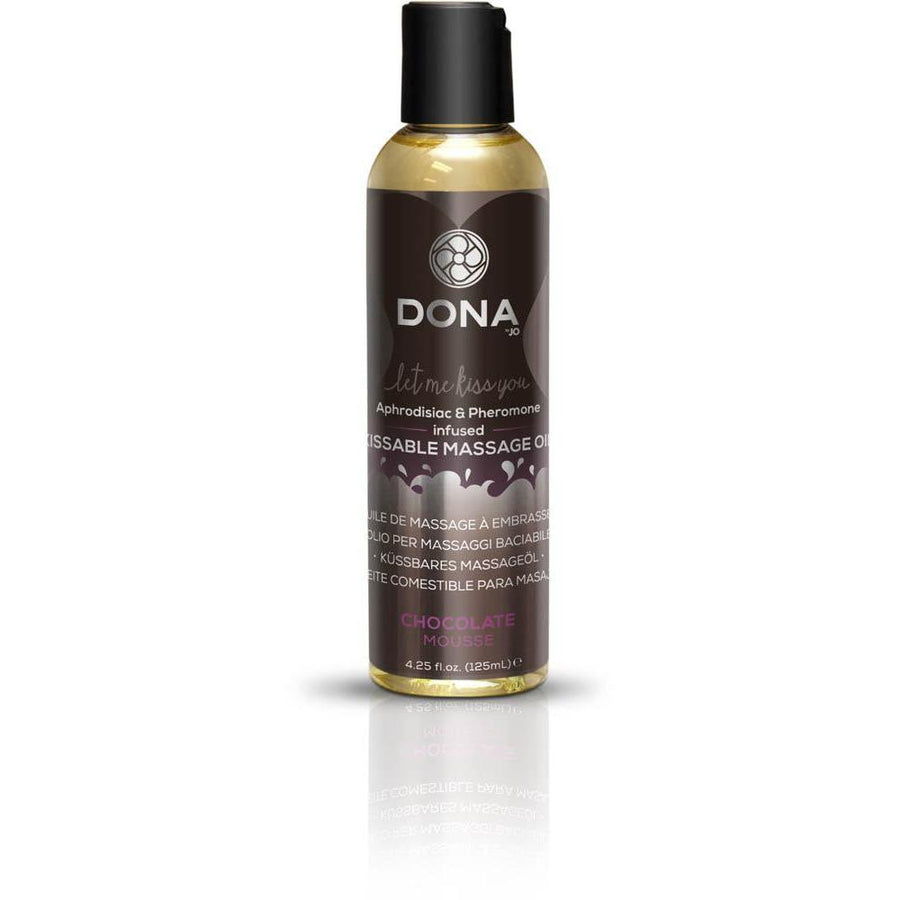 Dona Kissable Massage Oil Chocolate Mousse 4oz  (T)