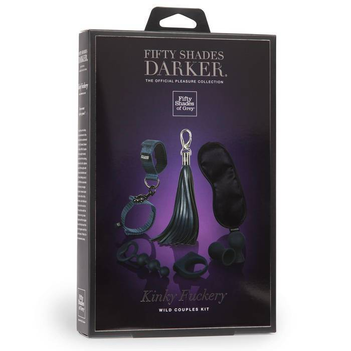 Fifty Shades Darker Kinky Fuckery Kinky Couples Kit (N)