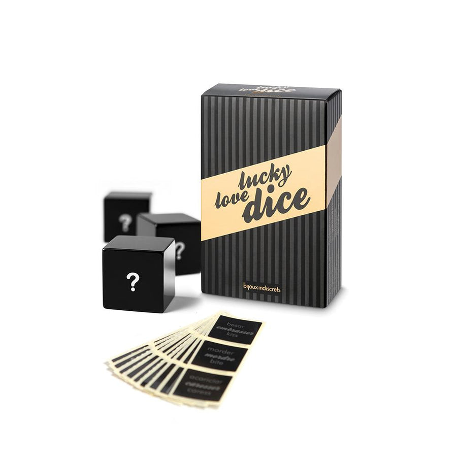 BIJOUX INDISCRETS LUCKY LOVE DICE NOVELTY GAMES