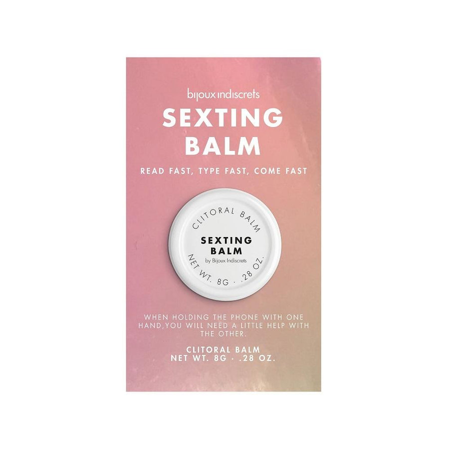 BIJOUX INDISCRETS CLITHERAPY BALM SEXTING BALM