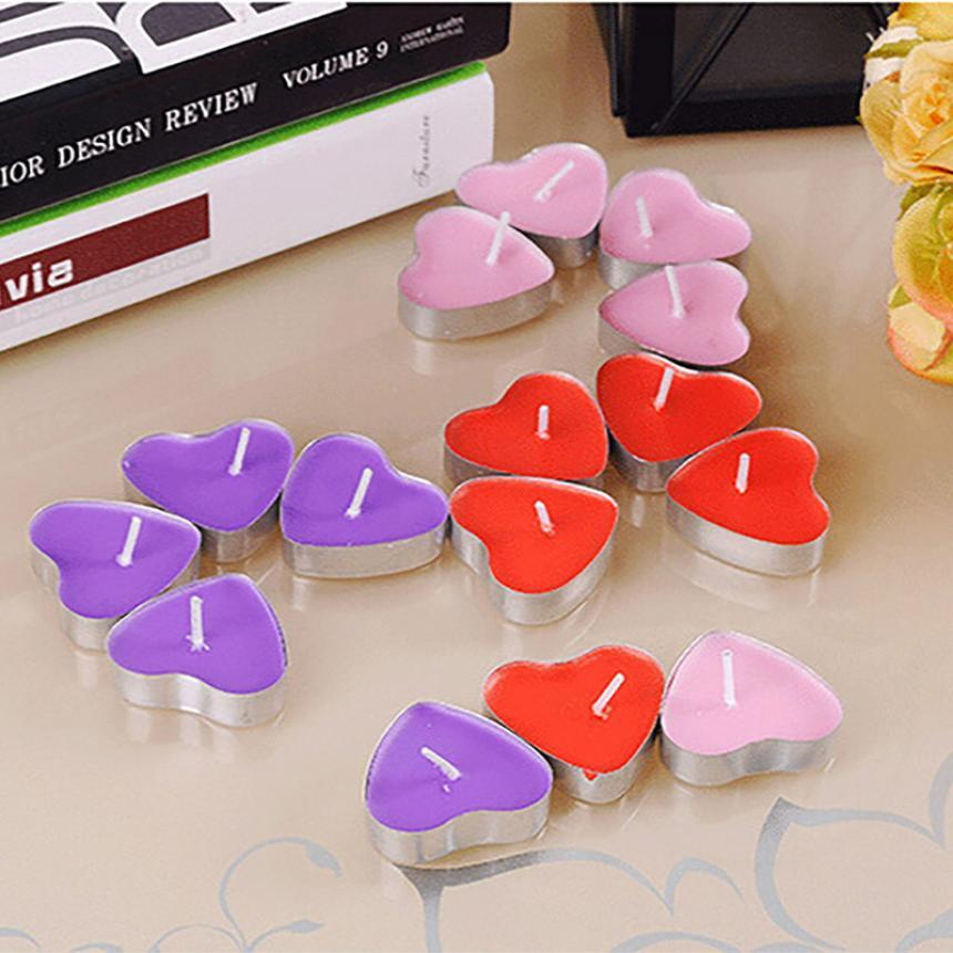 Romantic Heart Shaped Scented Sensual Candles