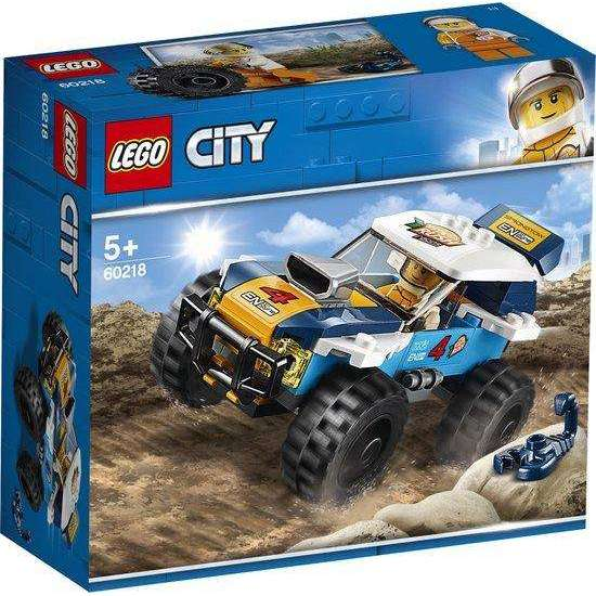 LEGO City Woestijn Rallywagen - 60218 - Zoblo.be