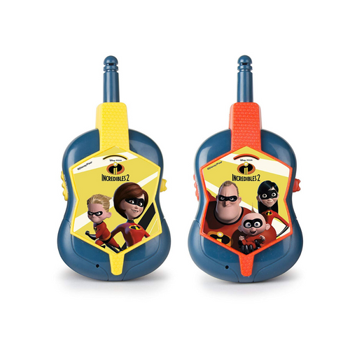 Incredibles 2 - Walkie Talkies - Zoblo.be