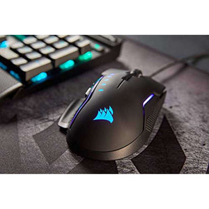 Corsair GLAIVE RGB Optische Gamingmuis - 16000DPI - Zoblo.be