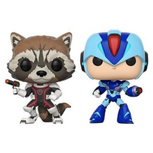 Afbeelding in Gallery-weergave laden, Rocket Vs Mega Man X - FUNKO POP! - 2 Pack - Zoblo.be