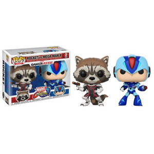 Rocket Vs Mega Man X - FUNKO POP! - 2 Pack - Zoblo.be
