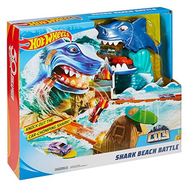 Hot Wheels Shark Beach Battle - Zoblo.be