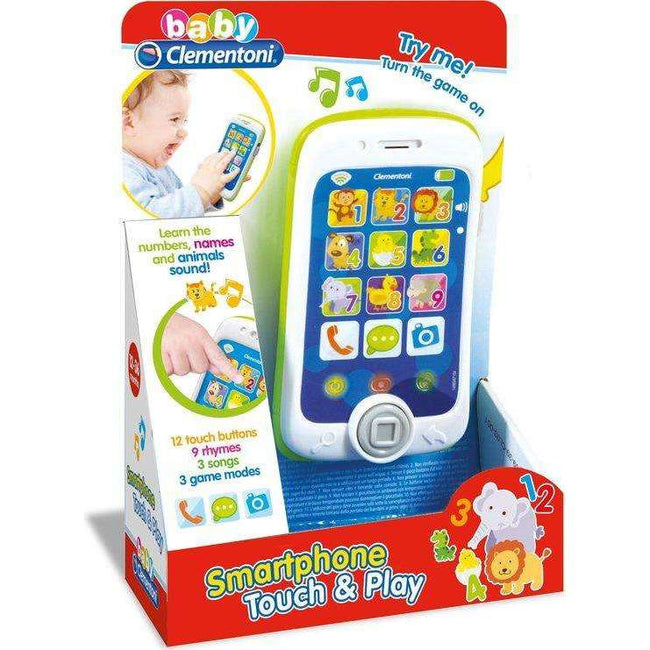 Clementoni Smartphone Touch & Play - Zoblo.be