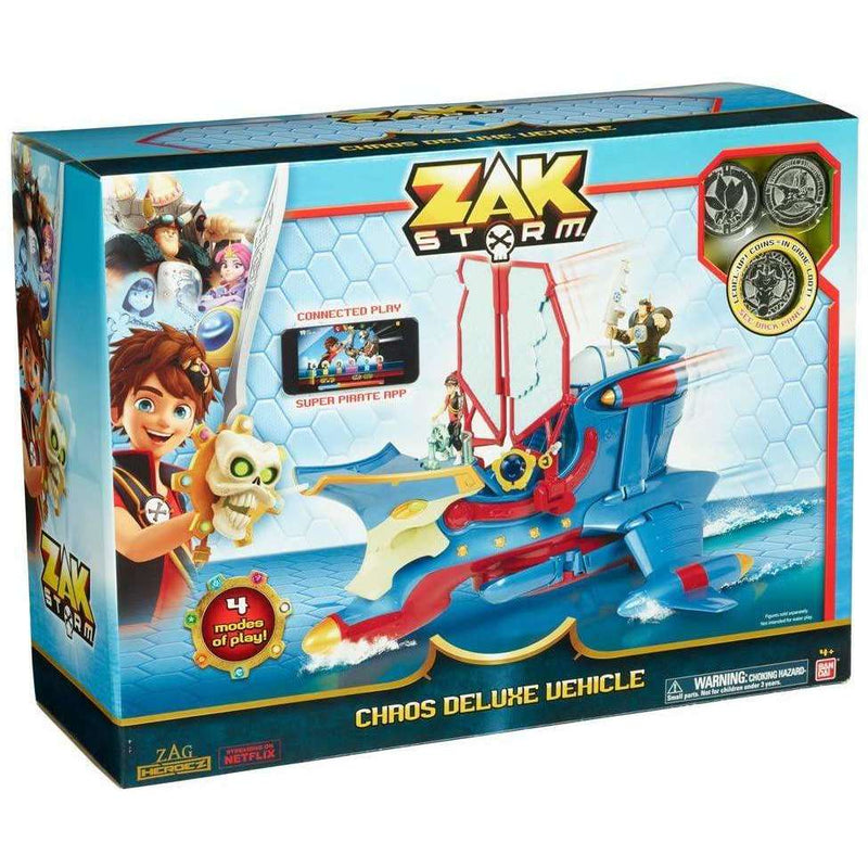 Zak Storm - Boot Chaos - Zoblo.be