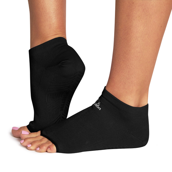 Black - Rhiannon Low Show Grip Sock