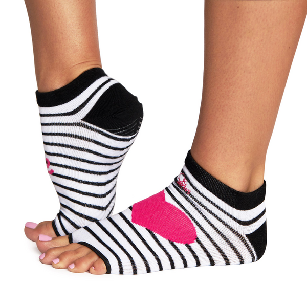 Black & White - Rhiannon Low Show Grip Sock