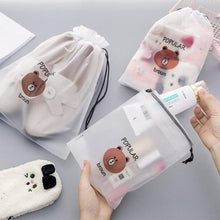 Load image into Gallery viewer, Adorable Bear Cosmetic Bag-UwU Things