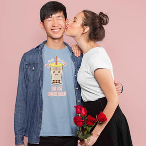 """Be My Boba Bae"" Unisex T-Shirt-Apparel-Fuel-Light Blue-XS-UwU Things"