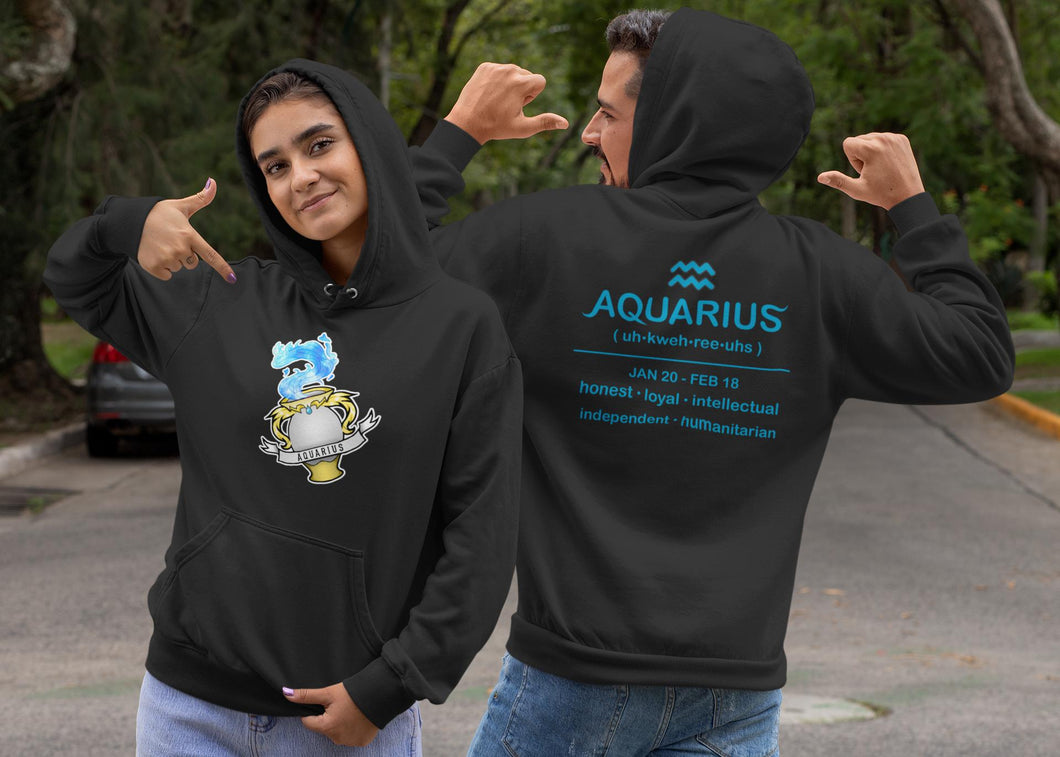 Galaxy Aquarius Vase Ultra Soft Hoodie