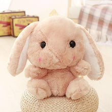Load image into Gallery viewer, Bunny Plush Backpack-UwU Things-Brown-UwU Things