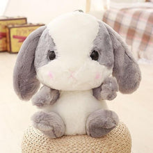 Load image into Gallery viewer, Bunny Plush Backpack-UwU Things-Gray-UwU Things