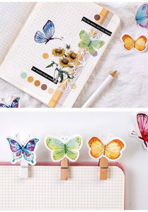 Butterfly Garden Stickers-UwU Things-UwU Things