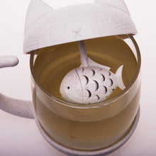 Load image into Gallery viewer, Cat & Fish Tea Infuser-UwU Things