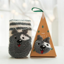 Load image into Gallery viewer, Cute Christmas Socks with Box-UwU Things