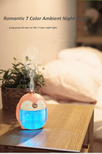 Cute Penguin Humidifier-UwU Things-Pink-UwU Things