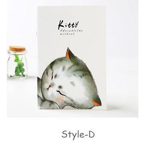 Cute Tabby Kitties Notebook-UwU Things
