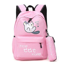 Load image into Gallery viewer, Durable Kawaii Cat Backpack-UwU Things