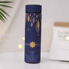 Load image into Gallery viewer, Elegant Double Wall Stainless Steel Travel Mug-UwU Things-Marigold Blue-UwU Things
