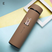 Load image into Gallery viewer, Elegant Double Wall Stainless Steel Travel Mug-UwU Things-Wolf Brown-UwU Things