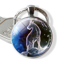 Load image into Gallery viewer, Enchanted Horoscope Keychains-UwU Things-Capricorn-UwU Things