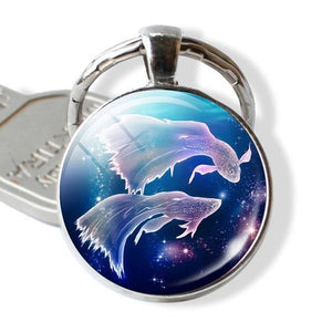 Enchanted Horoscope Keychains-UwU Things-Pisces-UwU Things