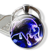 Load image into Gallery viewer, Enchanted Horoscope Keychains-UwU Things-Taurus-UwU Things