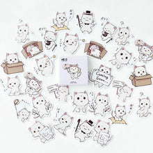 Load image into Gallery viewer, Endearing Meng Cat Stickers (45 pc)-UwU Things