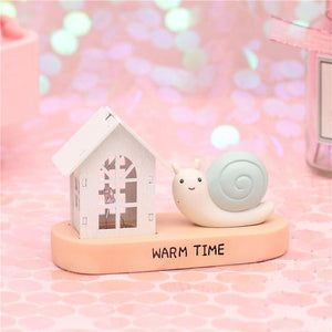 Fantasy Snail Night Light-UwU Things-Green Chapel-UwU Things