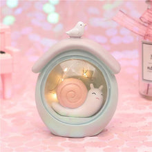 Load image into Gallery viewer, Fantasy Snail Night Light-UwU Things-Green Home-UwU Things