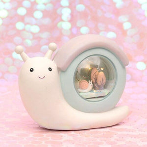 Fantasy Snail Night Light-UwU Things-Green Shelter-UwU Things