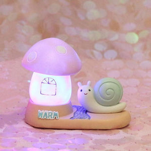 Fantasy Snail Night Light-UwU Things-Green Snail Lighthouse-UwU Things