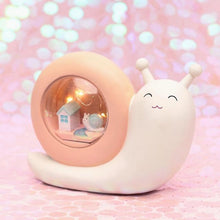 Load image into Gallery viewer, Fantasy Snail Night Light-UwU Things-Pink Shelter-UwU Things