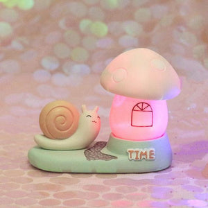 Fantasy Snail Night Light-UwU Things-Pink Snail Lighthouse-UwU Things