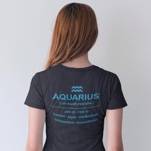 Load image into Gallery viewer, Galaxy Aquarius Vase Unisex T-Shirt