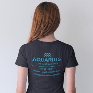 Galaxy Aquarius Vase Unisex T-Shirt