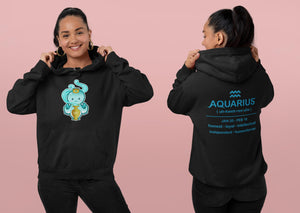 Cute Aquarius Octopus Ultra Soft Hoodie